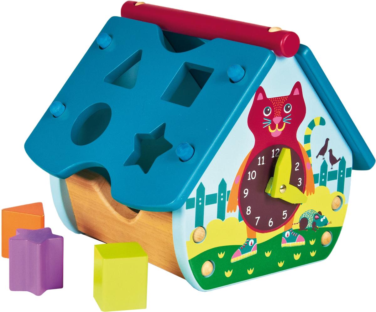 OOPS Игрушка-сортер Домик с часами. Кошка o 14001 00 oops