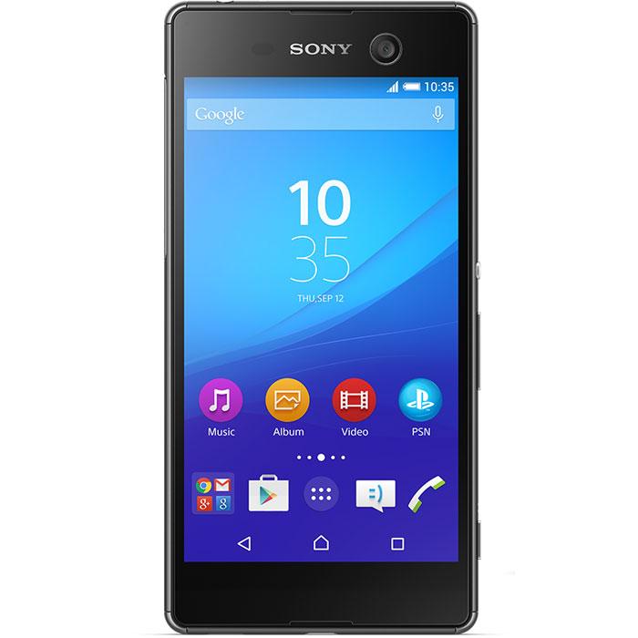Sony Xperia M5, BlackE5603BLKSony Xperia M5 - идеальной сбалансированный водонепроницаемый смартфон, созданный на базе новейших разработок Sony. Снимайте только отличные фото в нужный момент. А гибридная автофокусировка, срабатывающая за 0,25 секунды, камера на 21,5 МП и масштабирование повышенной четкости обеспечат профессиональное качество ваших снимков.Чистая красотаДанная модель оснащена камерой с разрешением 21,5 Мпикс со светочувствительностью ISO 3200. Таким образом вам гарантированы чистые четкие снимки каждый раз, когда вы нажимаете на кнопку. Смартфон может также производить съемку четких, ярких и насыщенных видео в разрешении 4K (3840x2160). Не можете подобраться к объекту фотосъемки достаточно близко? Не беда: технология Clear Image позволяет в 5 раз увеличить масштаб, не теряя в качестве изображения.Что нужно для отличного селфи? Лишь вы и качественная фронтальная камера на вашем устройстве. Фронтальная камера Xperia M5 оснащена матрицей с разрешением 13 Мпикс, автофокусировкой и фильтром, выравнивающим цвет кожи, чтобы каждое ваше фото выглядело свежо и эффектно.Съездите в другой город, выберитесь в пеший поход, устройте вечеринку с друзьями или просто посмотрите весь новый сезон любимого сериала: теперь аккумулятор смартфона больше не будет диктовать вам, что делать и где быть. Новый Xperia M5 выдерживает до 2 дней без подзарядки, чтобы вы могли заниматься тем, чем хотите.Защита от воды и жизненных невзгодСмартфон испачкался? Не беда: просто помойте его. Водонепроницаемый смартфон Xperia M5 легко выдерживает не только струю воды из-под крана, но и внезапный ливень, так что при необходимости вы сможете позвонить, даже если вам негде укрыться, — или сделать прекрасные фото под дождем.Смартфон сертифицирован «EAC» и имеет русифицированный интерфейс меню, а также «Руководство пользователя».