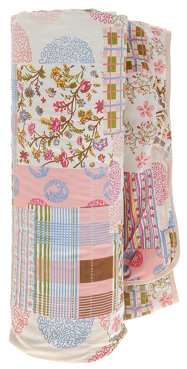 Одеяло летнее OL-Tex Miotex, наполнитель: овечья шерсть, цвет: сливочный, розовый, зеленый, 200 х 220 смМШПЭ-22-1_розовый/зелёный/голубойЛетнее одеяло OL-Tex Miotex создаст комфорт и уют во время сна. Стеганый чехол выполнен из полиэстера и оформлен красочным рисунком. Внутри - наполнитель из натуральной овечьей шерсти.Свойства шерсти уникальны, а шерсть овцы человек с древних времен использует себе на пользу. Шерсть овцы воздухопроницаема, она имеет между ворсинками воздушные пузырьки, что обеспечивает прекрасную терморегуляцию. Овечья шерсть прогревает тело сухим теплом, успокаивает боль, создает атмосферу комфорта. Шерсть помогает бороться со стрессом, обладает успокаивающим эффектом.Летнее одеяло из натуральной овечьей шерсти удобно и комфортно, оно создаст оптимальный микроклимат в постели - в теплое время года под ним не будет ни холодно, ни жарко. Рекомендации по уходу:- Нельзя стирать.- Нельзя отбеливать. - Не гладить. Не применять обработку паром.- Нельзя выжимать и сушить в стиральной машине.Размер одеяла: 200 см х 220 см. Материал чехла: 100% полиэстер. Материал наполнителя: овечья шерсть. Плотность наполнителя: 100 г/м2.