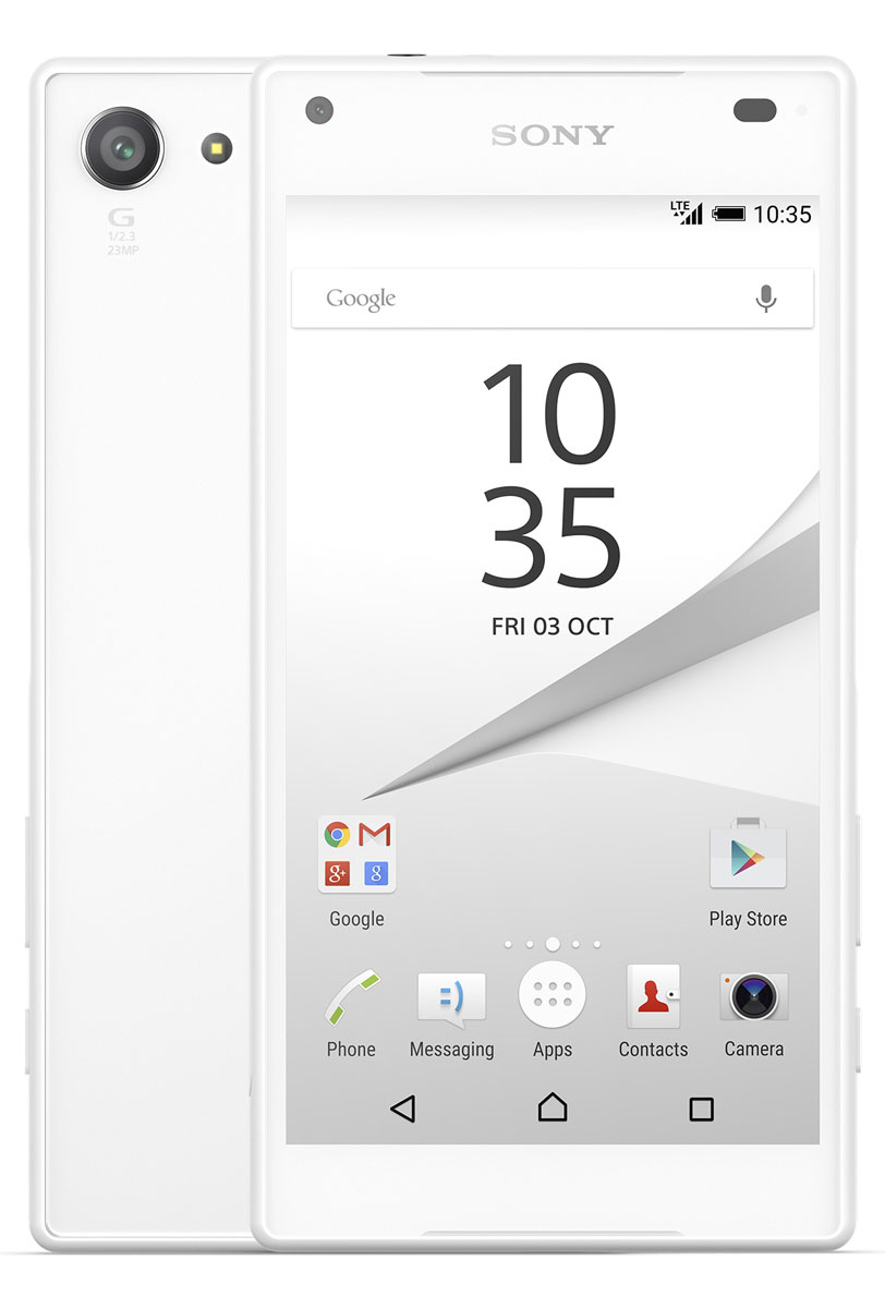 Sony Xperia Z5 Compact, White