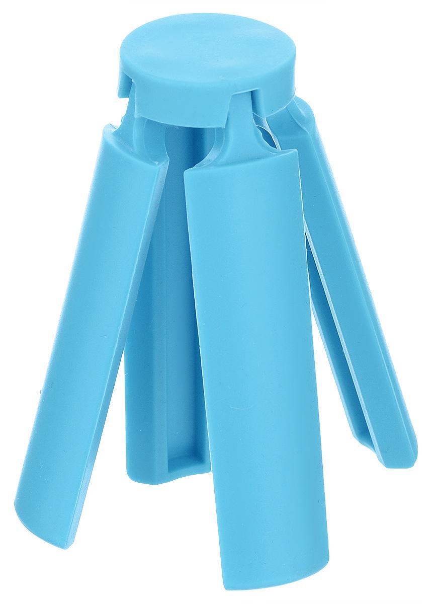 Подставка под горячее Marmiton, складная, цвет: голубой, 21,6 х 21,6 см12136_голубойПодставка под горячее Marmiton изготовлена из термостойкого силикона, которыйвыдерживает температуру до +240°С. Подставка предназначена для горячей посуды, онапоможет защитить поверхность столешниц и столов. Изделие складное, в сложенном виде незаймет много места в кухонном ящике. Можно мыть в посудомоечной машине. Размер (в сложенном виде): 3,5 см х 3,5 см х 10 см. Размер (в разложенном виде): 21,6 см х 21,6 см х 1 см.