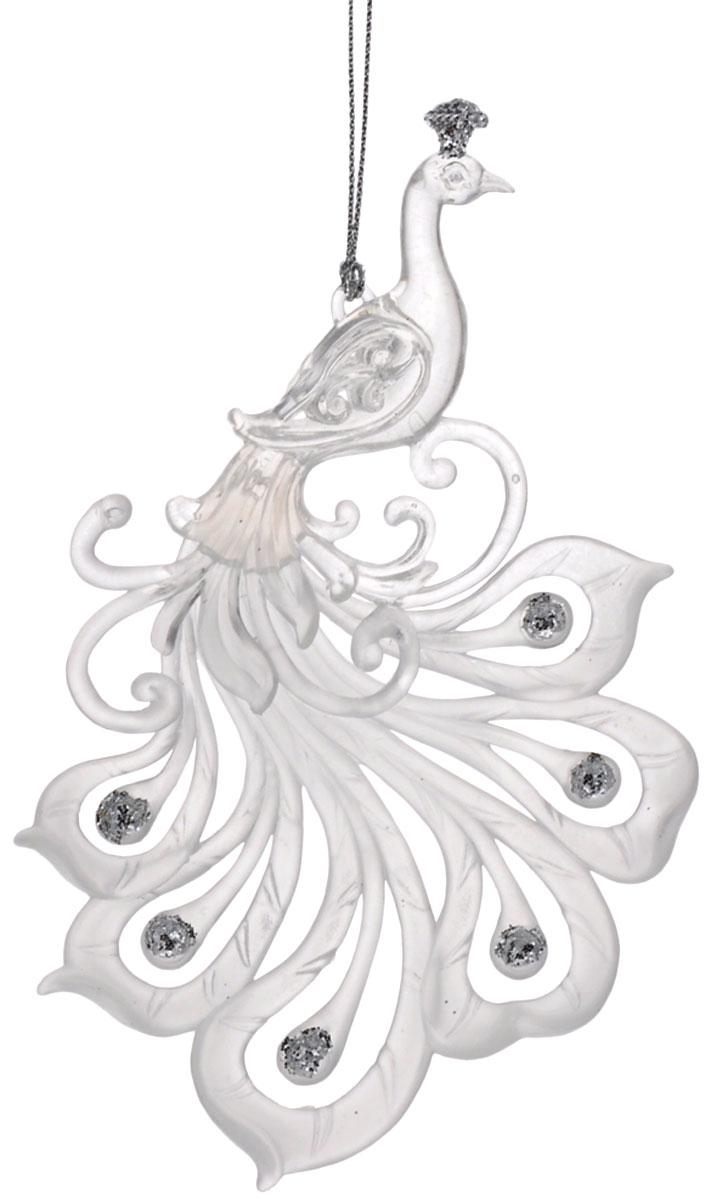Новогоднее подвесное украшение Феникс-презент Жар-птица, 16 см х 9,5 см38583Подвесное украшение Феникс-презент Жар-птица, выполненное из прочногопластика, прекрасно подойдет для праздничного декора вашей ели. Оригинальное новогоднееукрашение в виде жар-птицы оформлено блестками. С помощью специальной петельки его можноповесить в любом понравившемся вам месте. Но, конечно, удачнее всего такая игрушка будетсмотреться на праздничной елке.Елочная игрушка - символ Нового года и Рождества. Она несет в себе волшебство и красотупраздника. Создайте в своем доме атмосферу веселья и радости, украшая новогоднюю елкунарядными игрушками, которые будут из года в год накапливать теплоту воспоминаний.