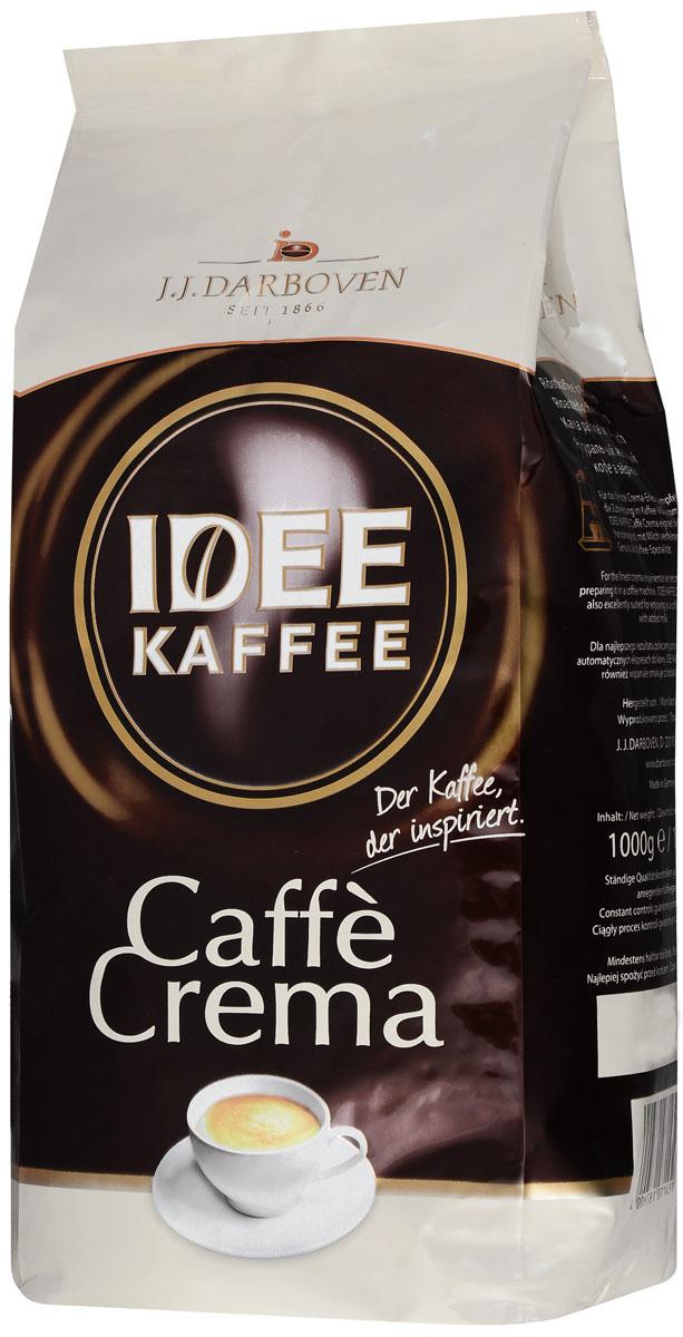 Idee Kaffee Cafe Crema в зернах, 1000 г71459Idee Kaffee Cafe Crema кофе №1среди немецких кофейных блендов наивысшего качества благодаря особому процессу производства. Перед обжаркой отборные кофейные зерна проходят предварительную очистку и обработку паром для извлечения компонентов, раздражающих желудок. Данный бленд создан из зерен 100% Арабики из Южной Америки и Восточной Африки, нормальной обжарки, с полным содержанием кофеина, обладаетотменным вкусом.Уважаемые клиенты! Обращаем ваше внимание на то, что упаковка может иметь несколько видов дизайна. Поставка осуществляется в зависимости от наличия на складе.Кофе: мифы и факты. Статья OZON Гид
