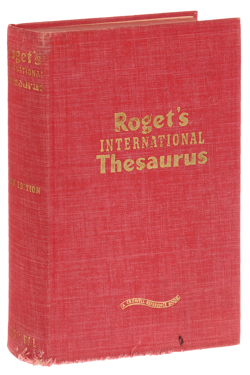 Roget's International Thesaurus encarta thesaurus
