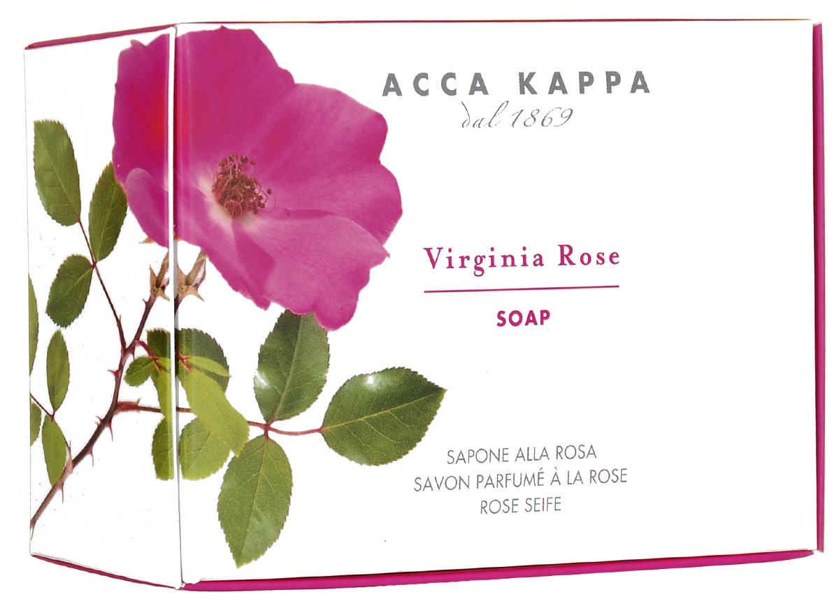 """Растительное мыло Acca Kappa """"Роза"""", 150 г"""