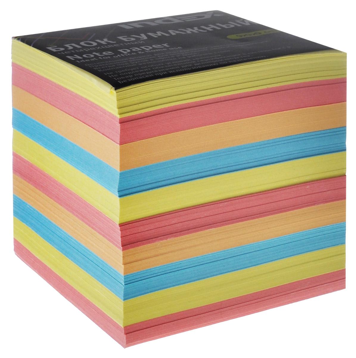 Index Блок для записей многоцветный, цвет: желтый, розовый, голубойI9910/N/R_желтый, розовый, голубойБумага для записей Index - практичное решение для оперативной записи информации в офисе или дома. Блок состоит из листов разноцветной бумаги, что помогает лучше ориентироваться во множестве повседневных заметок.А яркий блок-кубик на вашем рабочем столе поднимет настроение вам и вашим коллегам!