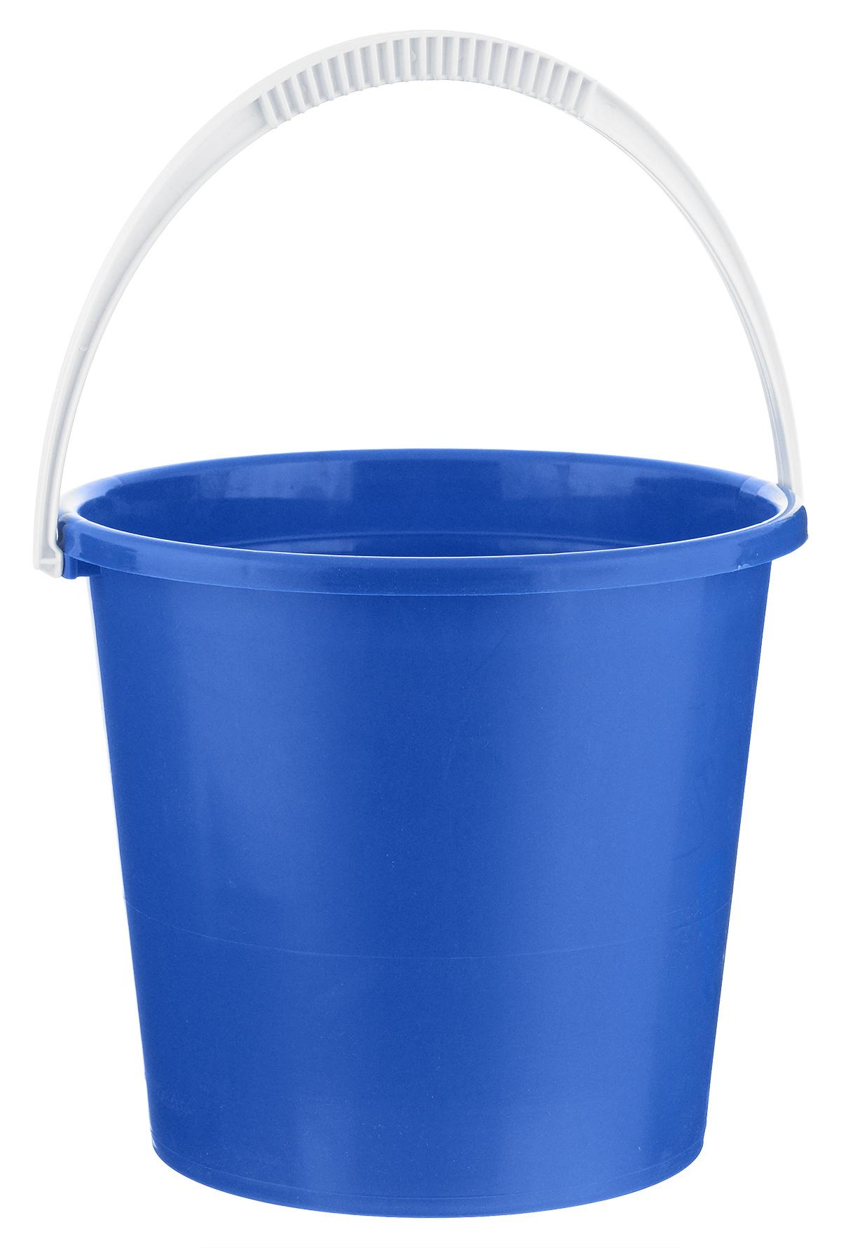 Ведро Альтернатива Крепыш, цвет: синий, 7 лК342_синийВедро Альтернатива Крепыш изготовлено из высококачественного одноцветного пластика. Оно легче железного и не подвержено коррозии. Ведро оснащено удобной пластиковой ручкой. Такое ведро станет незаменимым помощником в хозяйстве. Диаметр: 25 см.Высота: 22 см.