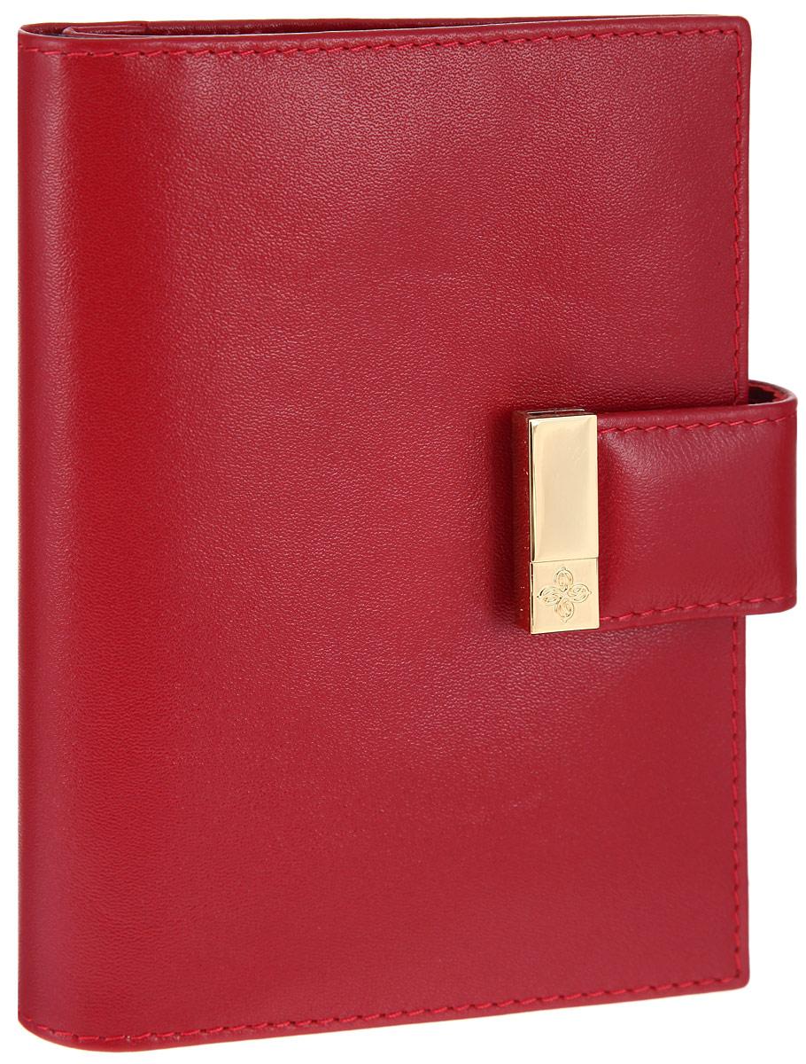 Бумажник водителя женский Dimanche Elite Алый, с отделением для паспорта, цвет: красный. 041Натуральная кожаБумажник водителя Dimanche женская коллекция Elite Алый изготовлен из натуральной кожи. Бумажник закрывается при помощи хлястика на кнопку.Внутри содержится съемный блок из пяти прозрачных пластиковых файлов разного размера для автодокументов, четыре прорези для визиток, карман для sim карты, специальное отделение для паспорта и дополнительный вертикальный карман.Стильный бумажник не только защитит ваши документы, но и станет стильным аксессуаром, подчеркивающим ваш образ.Изделие упаковано в подарочную коробку с логотипом фирмы Dimanche.
