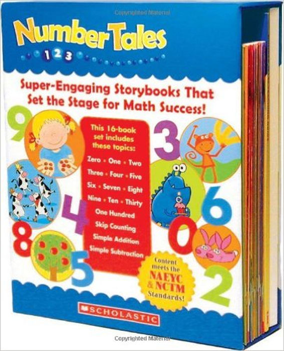 Number Tales Box Set: Super-Engaging Storybooks that Set the Stage for Math Success eta hand2mind hands on standards ready to teach mathematics toolkit middle grades 79618