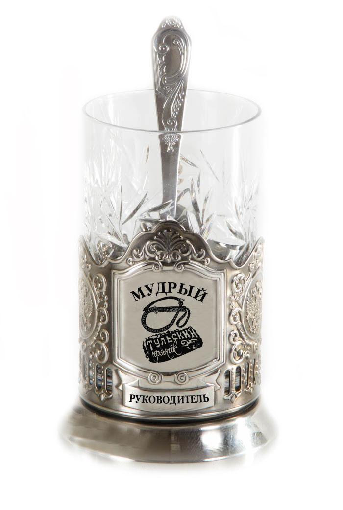 Подстаканник никелерованный. Нанесение гравировка.В комплекте стакан хрустальный и чайная ложка. Упаковка подарочный футляр посуда из нейзильбера,латуни с хромовым или никелевым покрытием