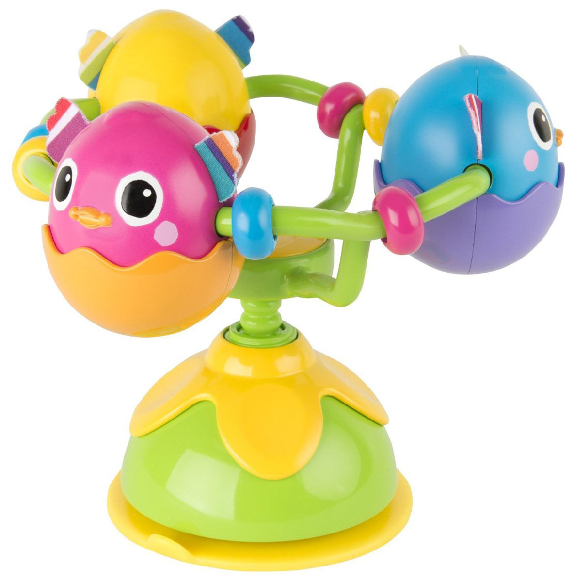 Lamaze Игрушка Веселые утята, с присоской tomy игрушка с присоской на стульчике веселые утята tomy lamaze