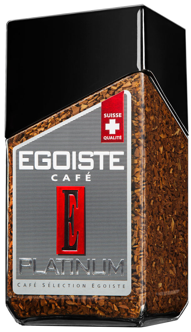 Egoiste Platinum кофе растворимый, 100 г senator barista кофе растворимый 100 г