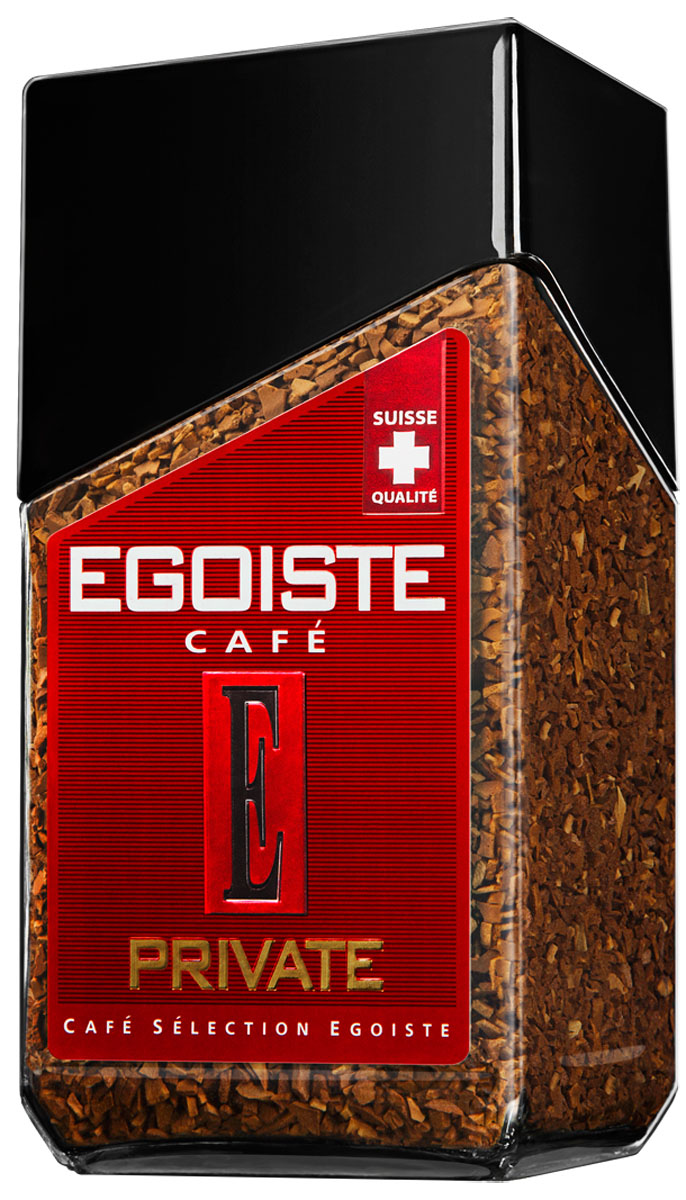 Egoiste Private кофе растворимый, 100 г egoiste noir кофе в капсулах 8 шт