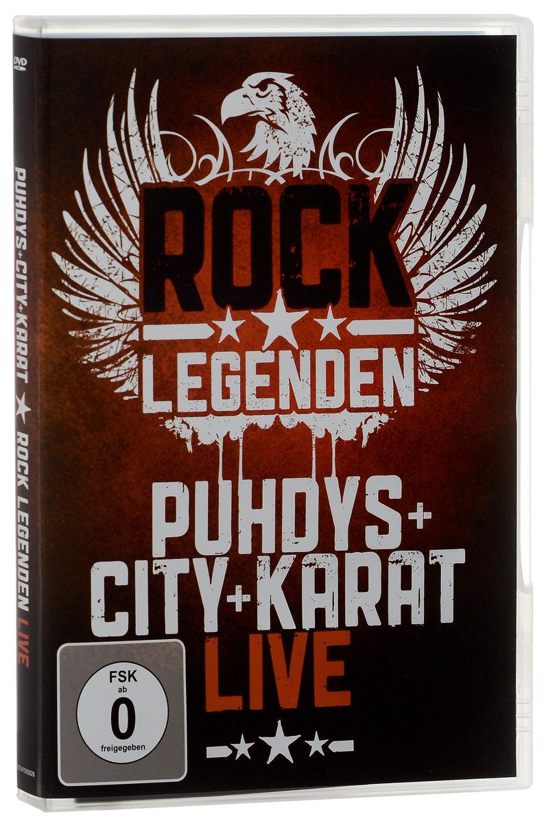 Puhdys + City + Karat: Rock Legenden Live цена