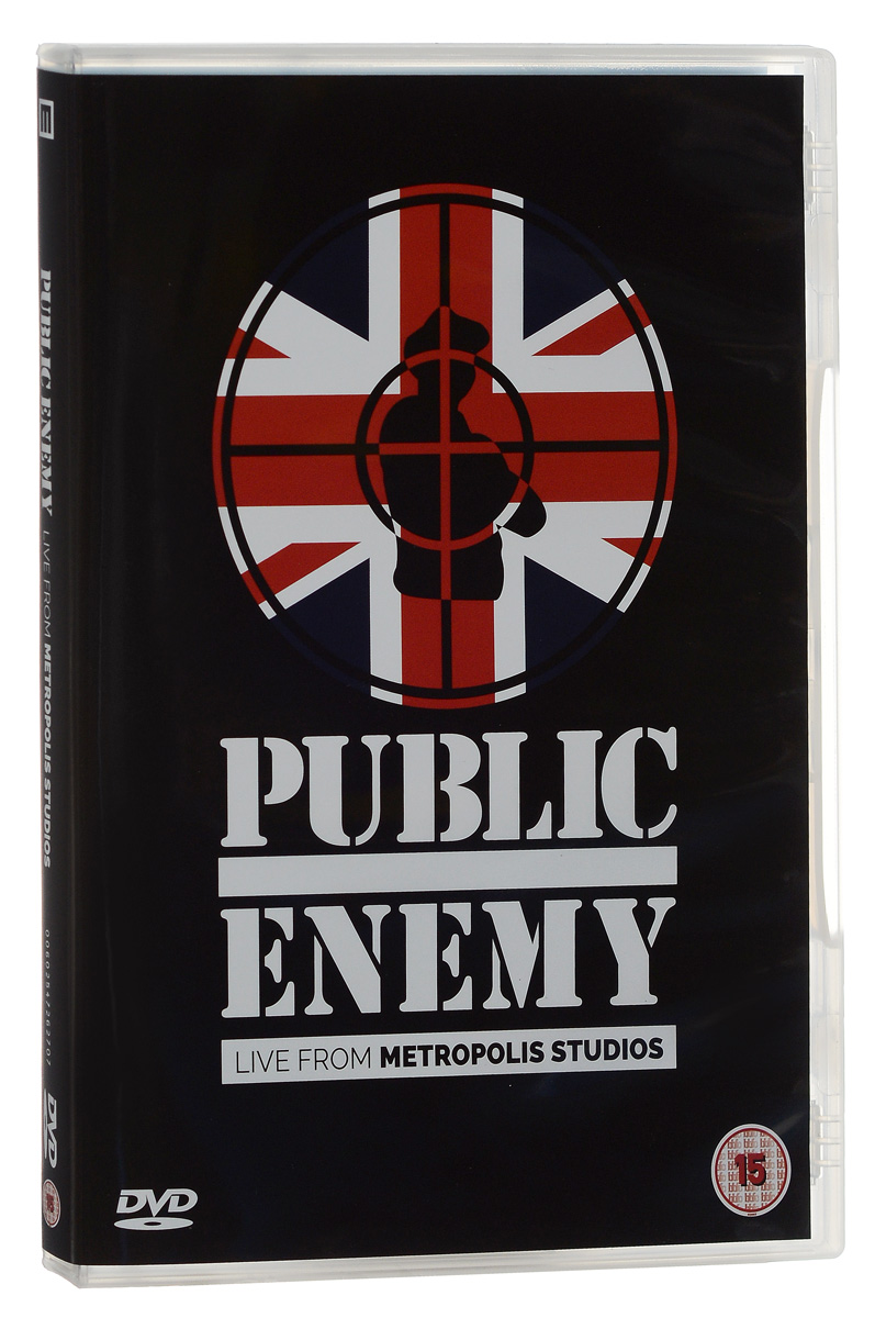 Public Enemy: Live At Metropolis Studios public enemy public enemy live from metropolis studios limited edition 2 cd 2 lp blu ray