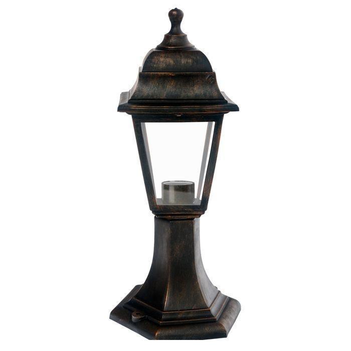 Светильник садовый НТУ04-1-60-Е27 бронзаНТУ04Уличный светильник — ночник. Широкая цветовая гамма. Плафон из термоустойчивого пластика создает мягкое освещение. Используется только энергосберегающая лампа (не входит в комплект). В комплекте инструкция по сборке светильника. Корпус светильника изготовлен из ударопрочного полипропилена, рассеиватели - из стекла. Материал уплотнителей — ПВХ.