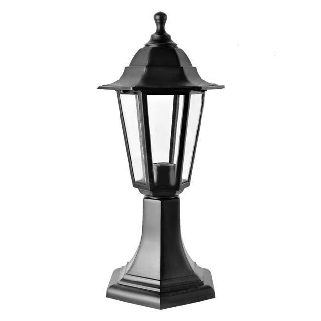 Светильник садовый НТУ06-1-60-E27 черныйНТУ06Уличный светильник — ночник. Широкая цветовая гамма. Плафон из термоустойчивого пластика создает мягкое освещение. Используется только энергосберегающая лампа (не входит в комплект). В комплекте инструкция по сборке светильника.