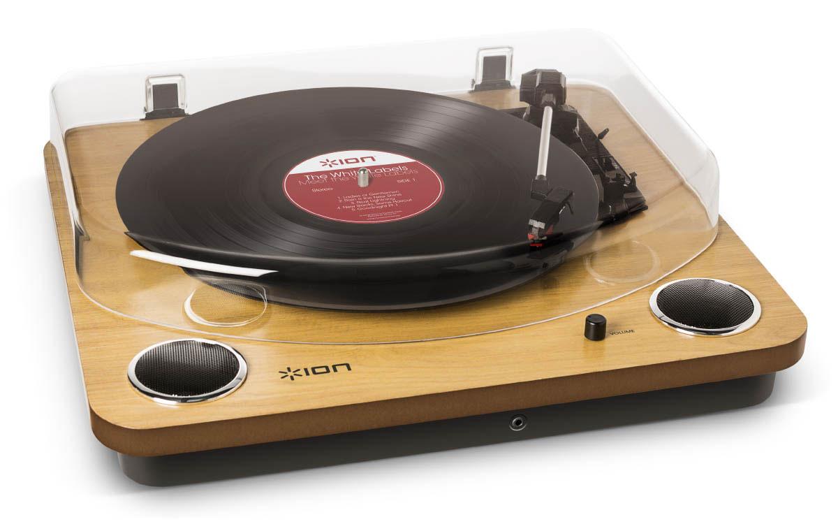 ION Audio MAX LP проигрыватель винила со встроенными динамиками - Hi-Fi компоненты