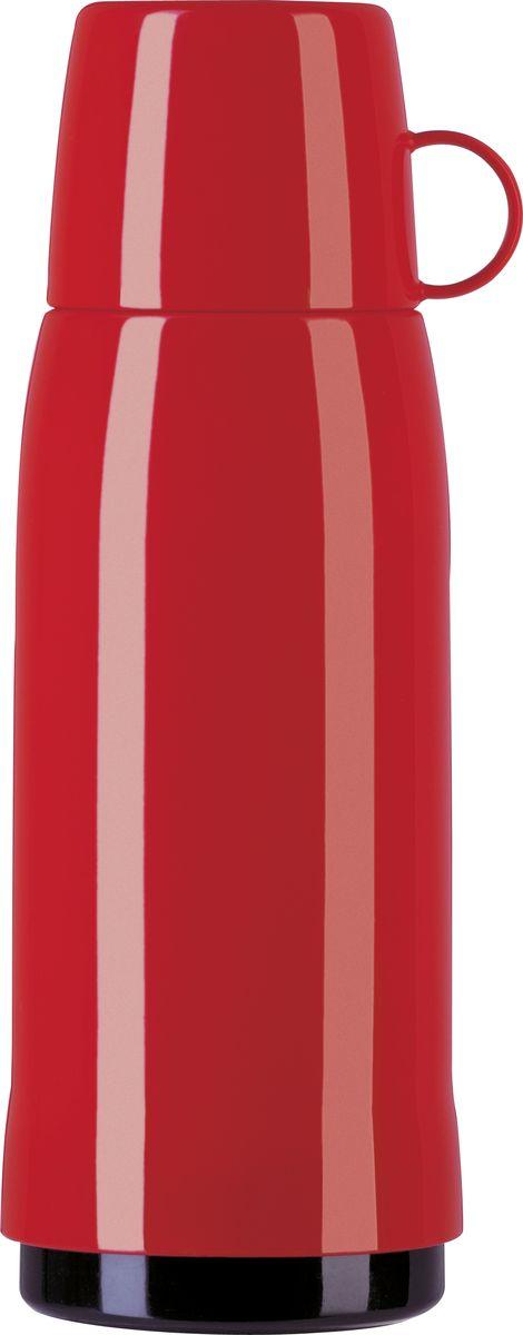 """Термос Emsa """"Rocket"""" выполнен из прочного цветного пластика  со стеклянной колбой. Термос прост в использовании и очень  функционален. Оснащен герметичным клапаном и крышкой,  которую можно использовать в качестве стакана.  Легкий и прочный термос Emsa """"Rocket"""" сохранит ваши напитки  горячими или холодными надолго. Высота (с учетом крышки): 29 см. Диаметр горлышка: 6,5 см. Диаметр дна: 9,5 см. Размер крышки (без учета ручки): 8 х 6,7 х 6,7 см. Сохранение холода: 24 ч. Сохранение тепла: 12 ч."""