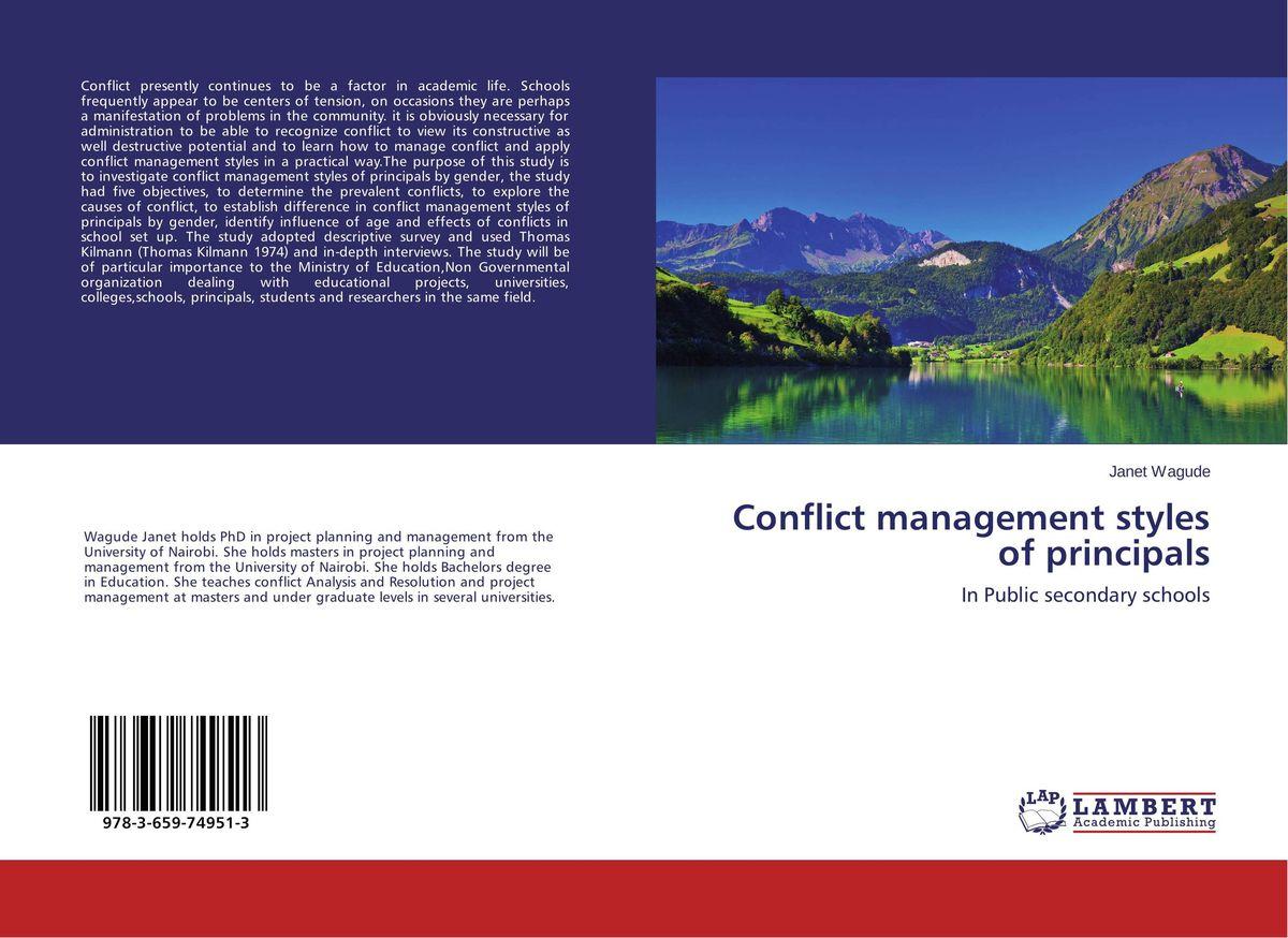 Conflict management styles of principals anatomy of conflict management styles in kenyan public universities