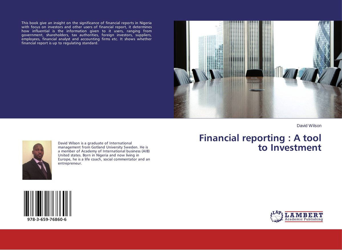 Financial reporting : A tool to Investment an introduction to the law on financial investment