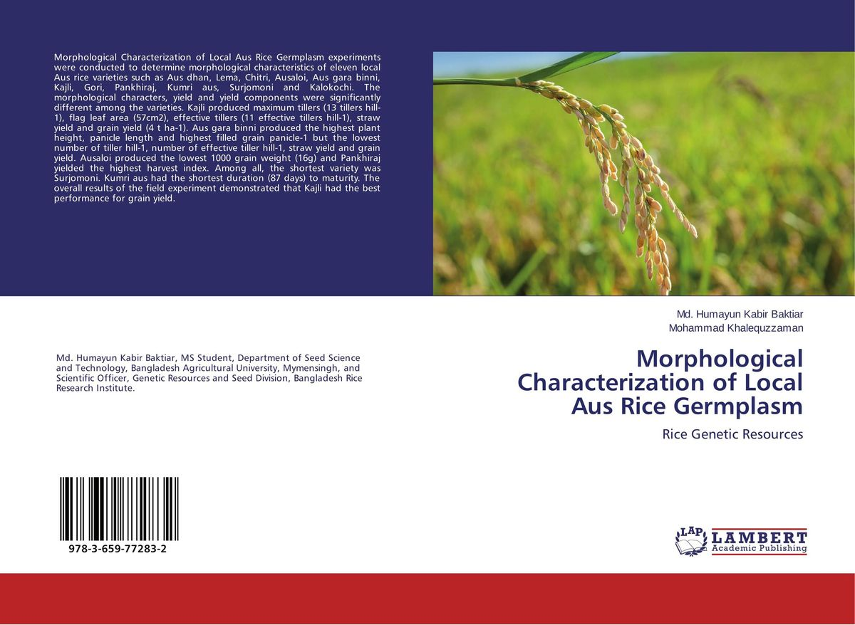 Morphological Characterization of Local Aus Rice Germplasm vikas kumar singh morphological and molecular characterization of tgms lines in rice