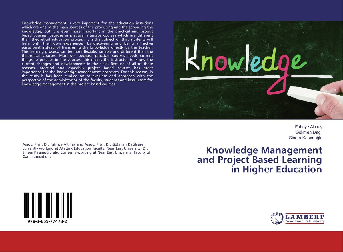 Knowledge Management and Project Based Learning in Higher Education web based learning in lis