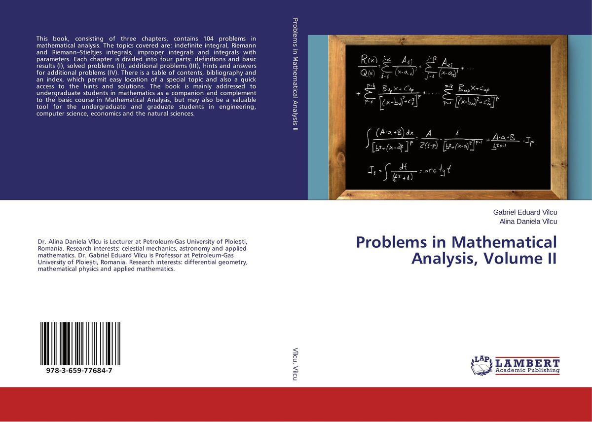 Problems in Mathematical Analysis, Volume II a course in mathematical analysis