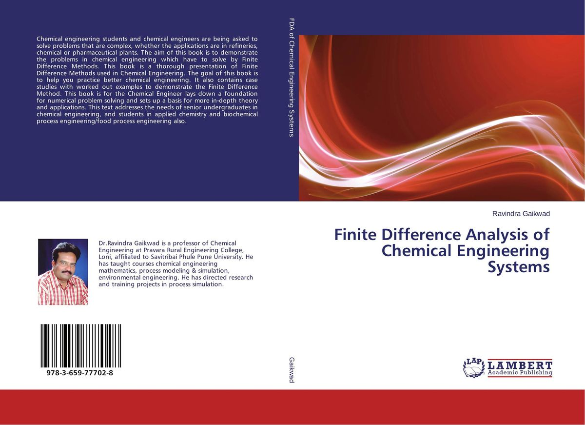 Finite Difference Analysis of Chemical Engineering Systems laurent simon control of biological and drug delivery systems for chemical biomedical and pharmaceutical engineering