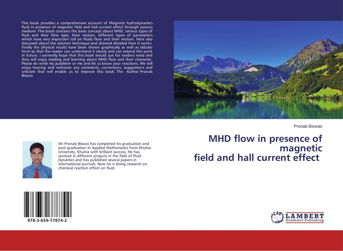 MHD flow in presence of magnetic field and hall current effect недорого