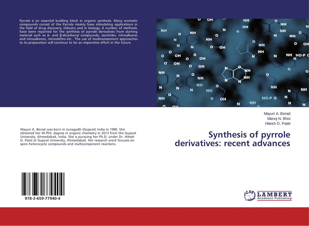 Synthesis of pyrrole derivatives: recent advances dennis hall g boronic acids preparation and applications in organic synthesis medicine and materials