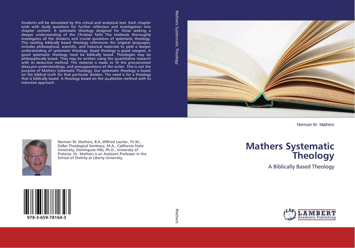 Mathers Systematic Theology sola scriptura benedict xvi s theology of the word of god