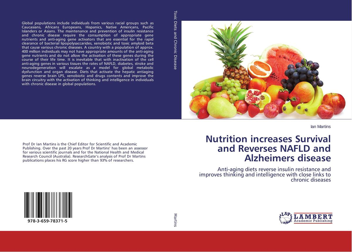 Nutrition increases Survival and Reverses NAFLD and Alzheimers disease the alzheimers caregiver