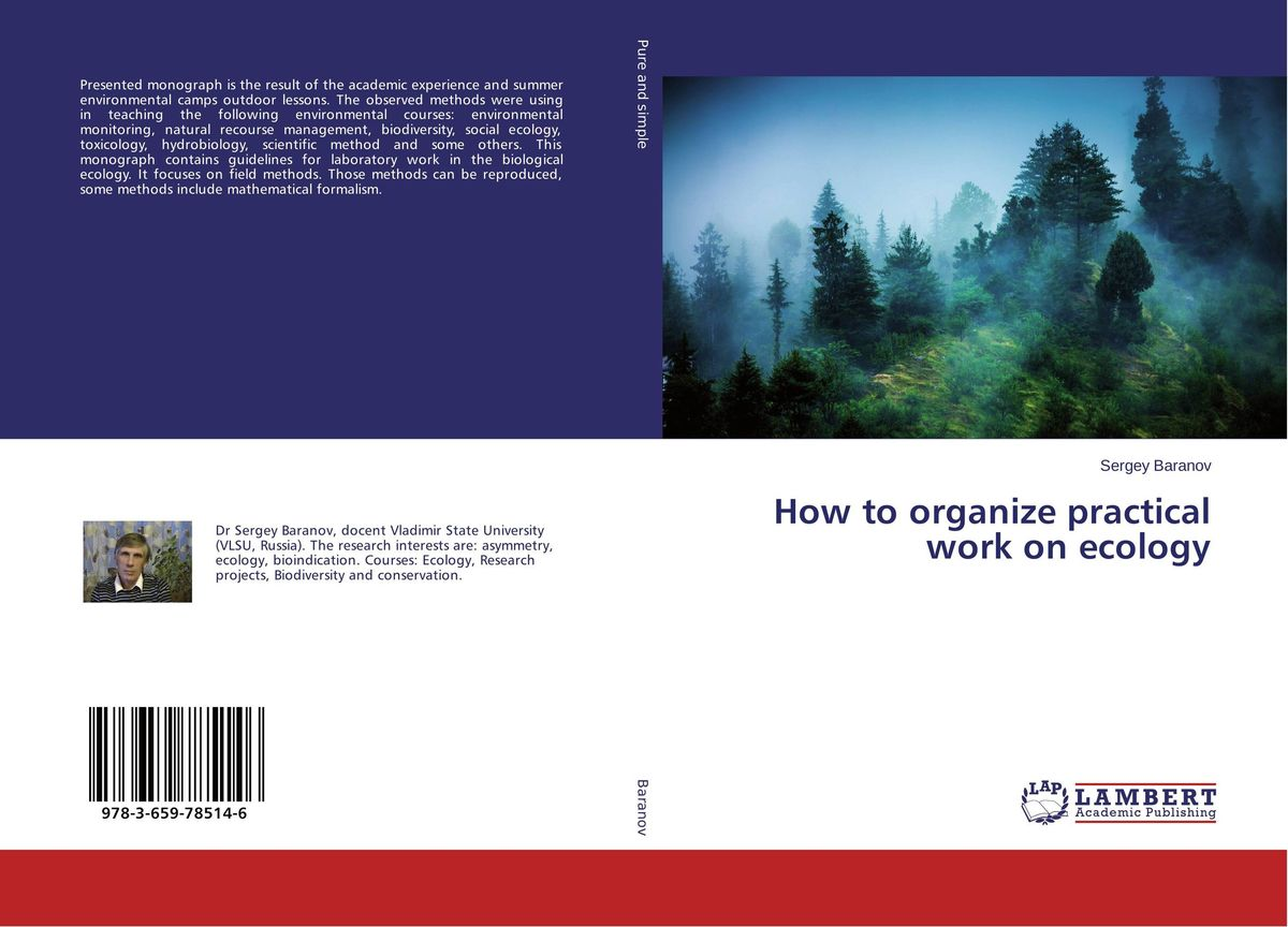 How to organize practical work on ecology ellen the scientific examination of documents – methods