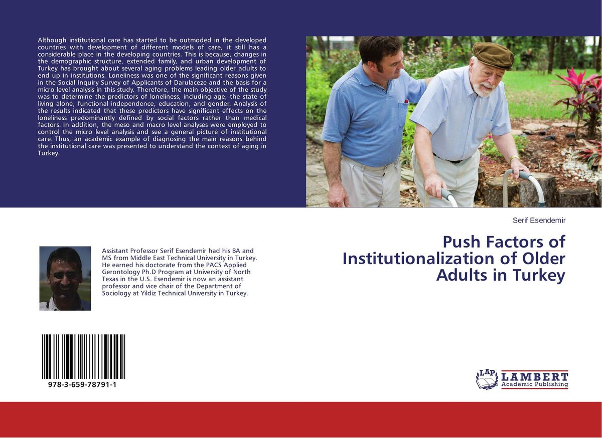 Push Factors of Institutionalization of Older Adults in Turkey