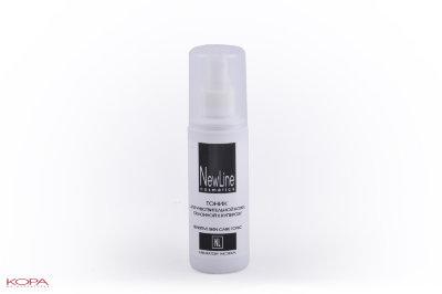 New Line Тоник для чувствительной кожи, склонной к куперозу, 100 мл21130Предназначен для профессионального и домашнего ухода за чувствительной кожей, склонной к куперозу. Тонизирует, увлажняет кожу, выравнивает цвет лица. Обеспечивает эффективную антиоксидантную защиту. Не имеет ограничений по возрасту и типу кожи.