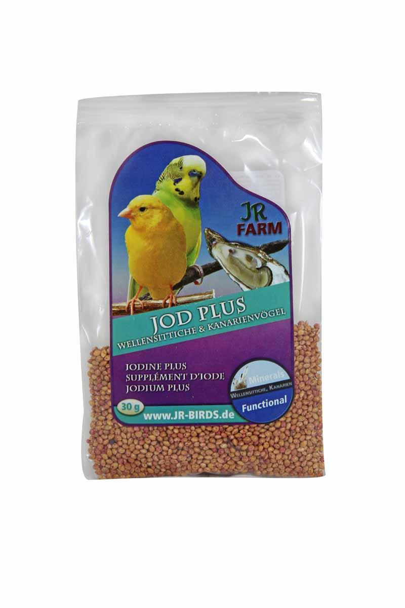 JR FARM 08422 Йод Плюс для волнистых попугаев и канареек 30г игровые наборы tomy britains big farm фермерский прицеп со свинками