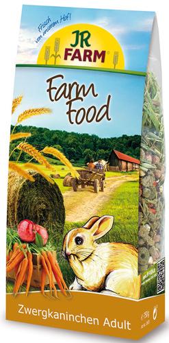 JR FARM 13635 Farm Food Adult Корм для карликовых кроликов 750г36902Корм Adult для взрослых животных содержит все питательные вещества, витамины и минералы. В этот корм специально так же был добавлен зеленый овес и яблочные чипсы - любимое лакомство карликовых кроликов.