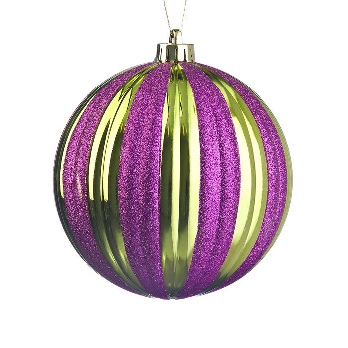 Украшение новогоднее подвесное Lunten Ranta Тыква, цвет: фиолетовый, диаметр 15 см очки lunten ranta диадема 66151