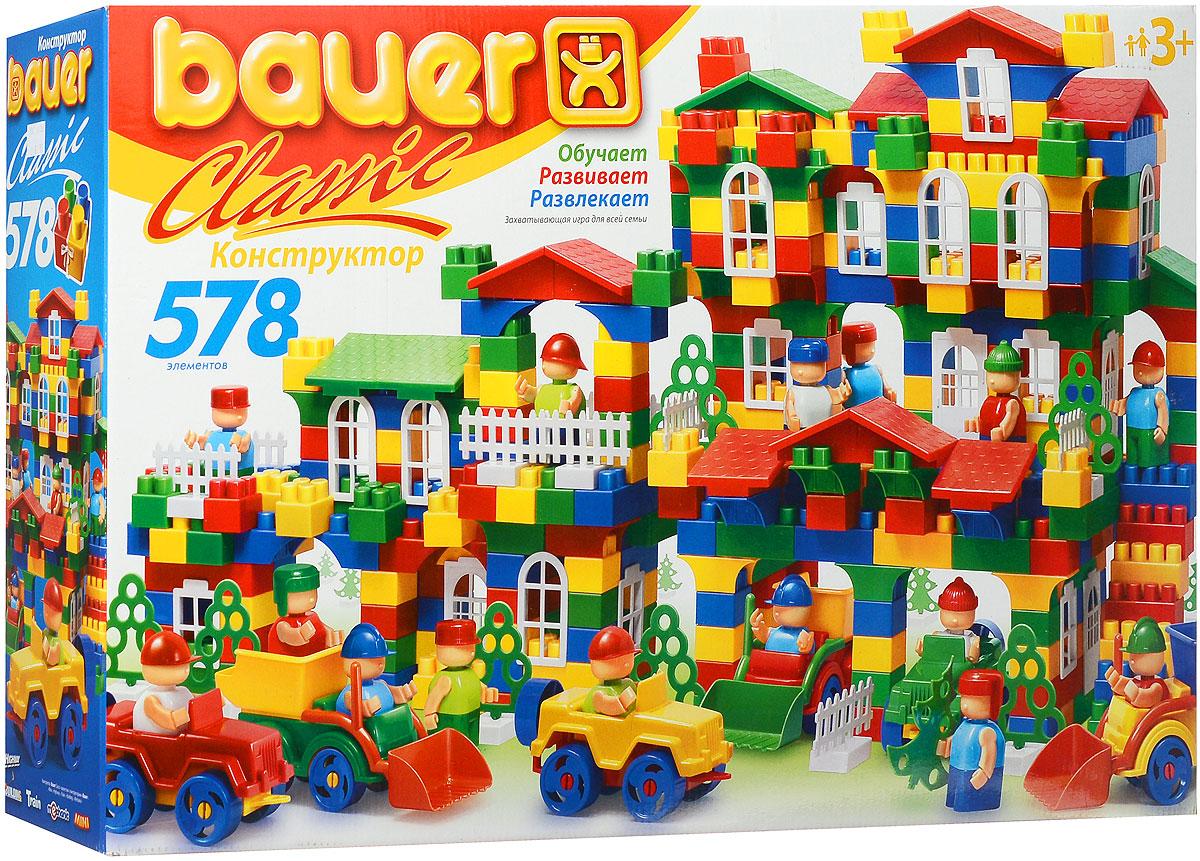 Bauer Конструктор Classic 201 lego classic конструктор дополнение к набору для творчества яркие цвета 10693