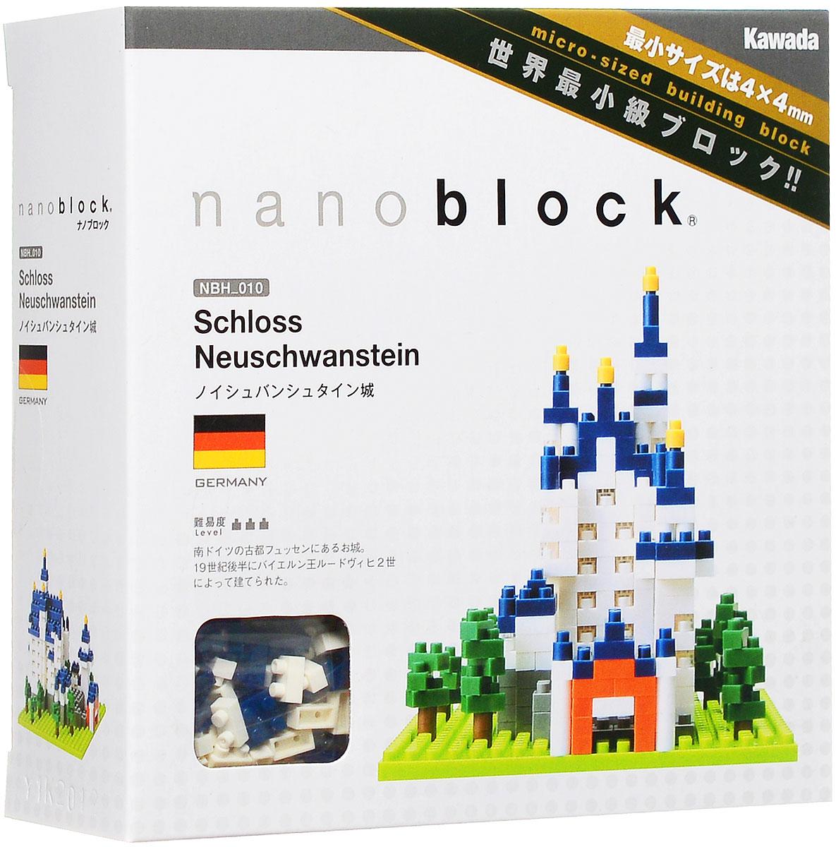 NanoBlock Мини-конструктор Замок Нойшванштайн браслет оберег 3 хранителя овен самоцветы револю