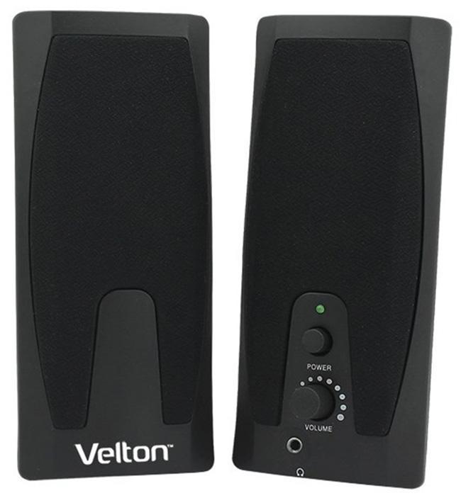 Velton 2.0 VLT-SP205, Black портативная акустическая система velton vlt m200l white