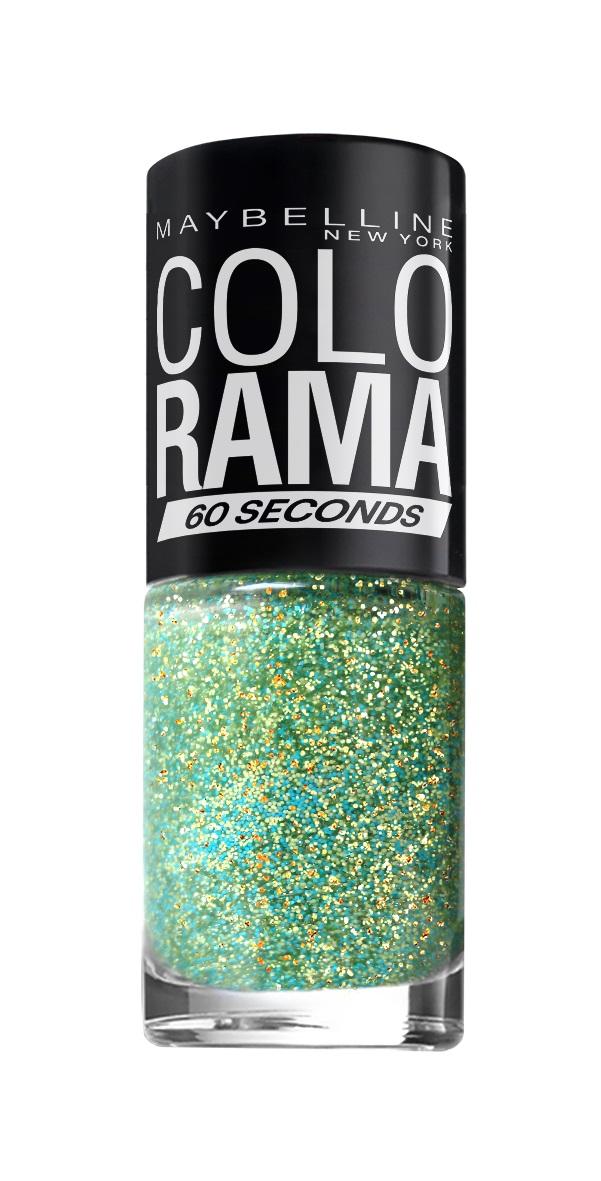 Maybelline New York Лак для ногтей Colorama, оттенок 334, Мятное Мерцание, 7 млB2815600Тренды подиумов Нью-Йорка на твоих ногтях! Особая формула и удобная кисточка для более ровного нанесения. Самая широкая палитра оттенков. Яркие модные цвета!