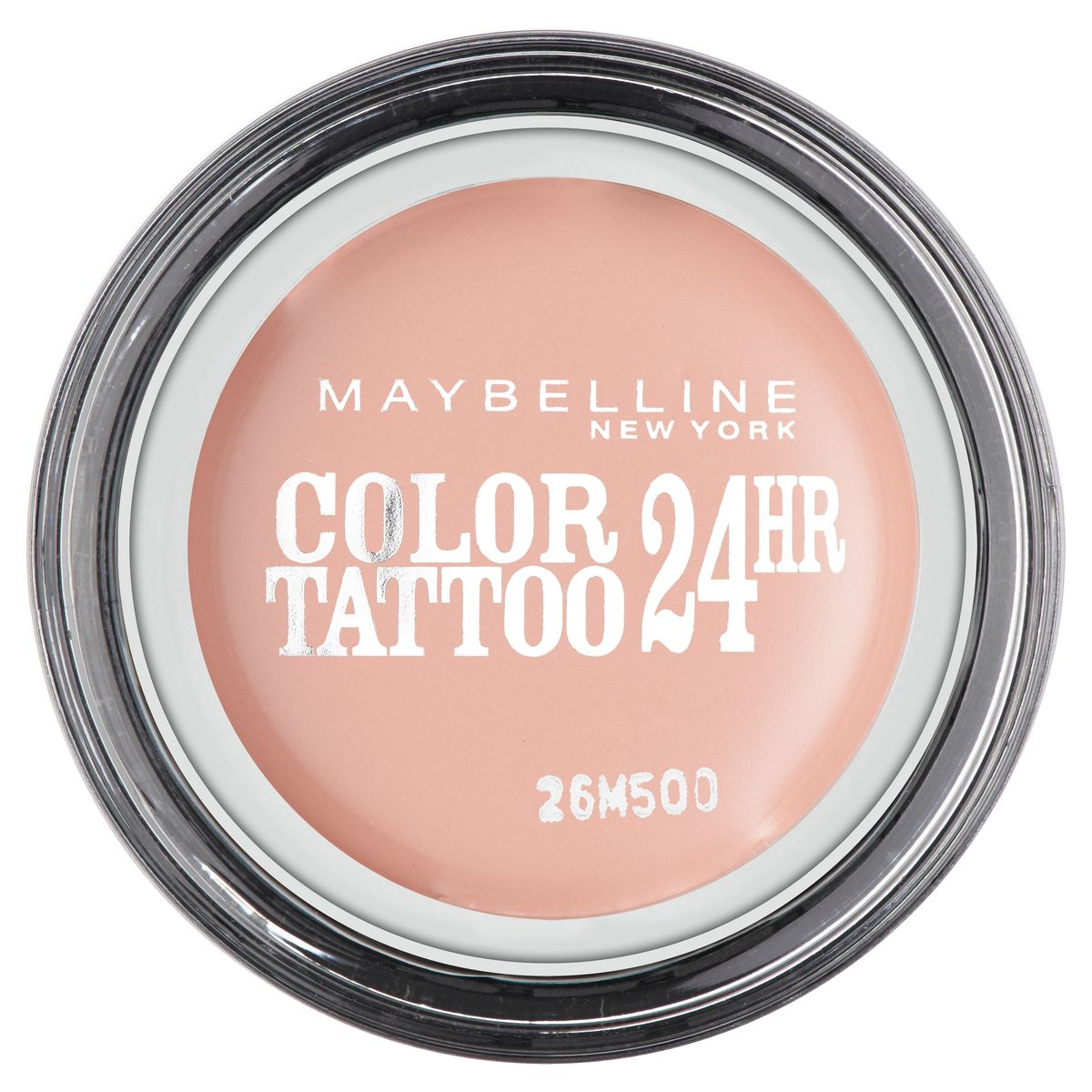 Maybelline New York Тени для век Color Tattoo, оттенок 91, Розовый Зефир, 4 млB2900101Технология тату-пигментов создает яркий, супернасыщенный цвет. Крем-гелевая текстура обеспечивает ультралегкое нанесение и стойкость на 24 часа.