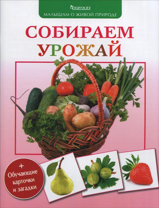 Купить Собираем урожай (+обучающие карточки и загадки)