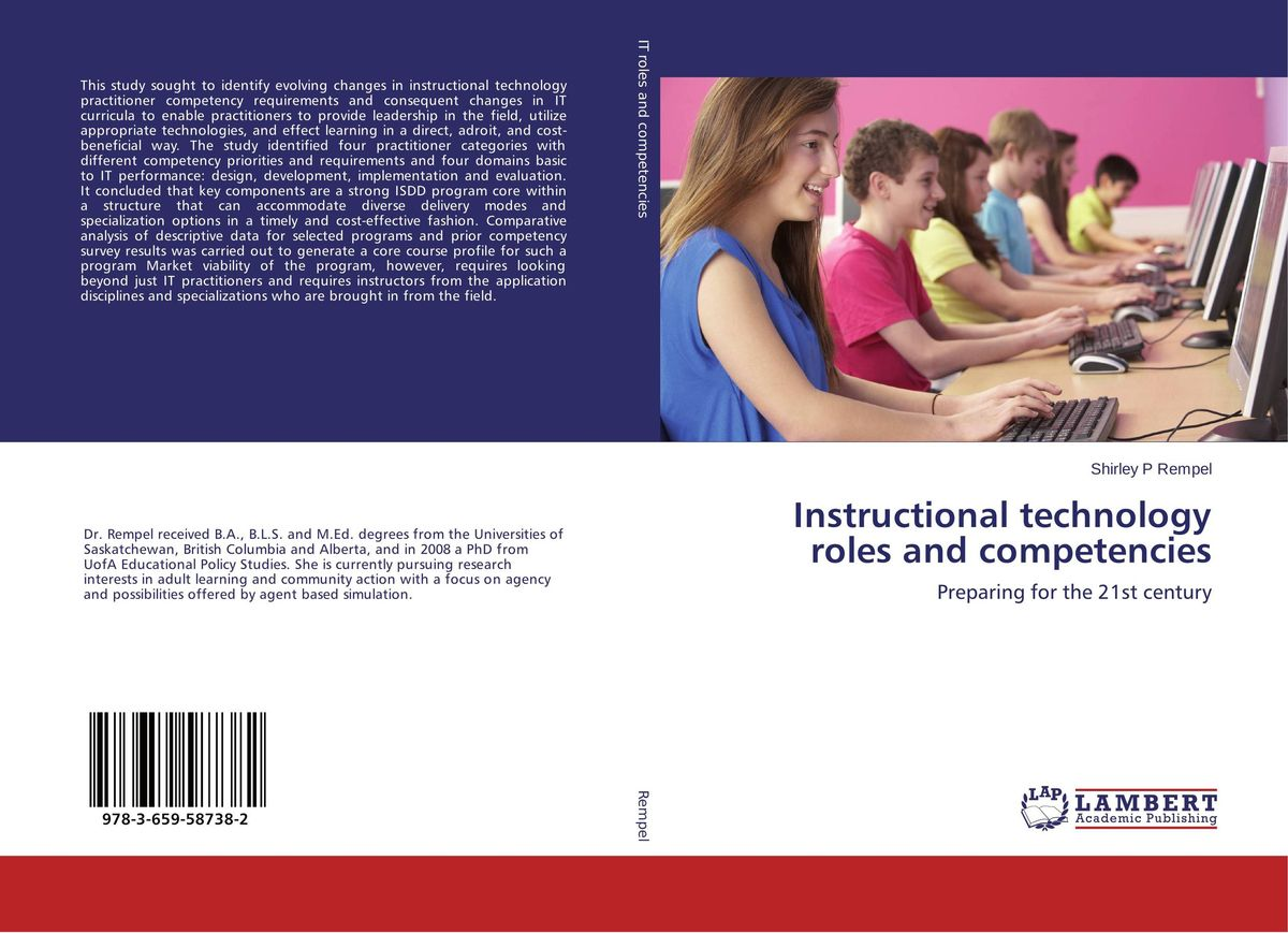 Instructional technology roles and competencies zafar khan instructional leadership