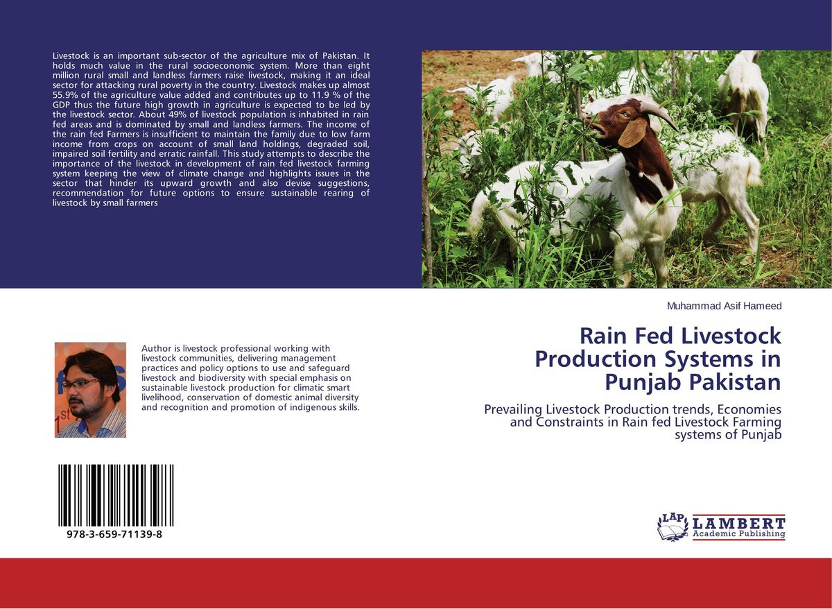 Rain Fed Livestock Production Systems in Punjab Pakistan adding value to the citrus pulp by enzyme biotechnology production