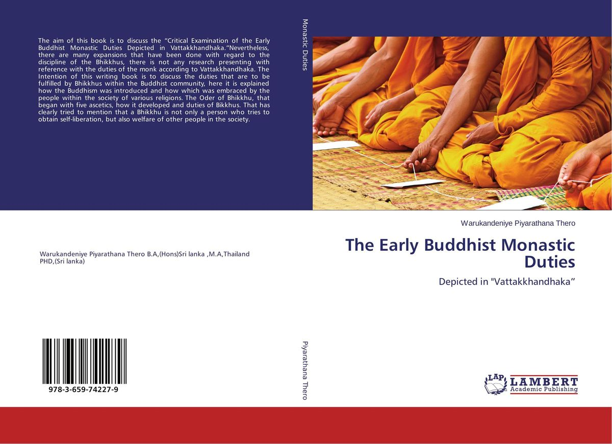 The Early Buddhist Monastic Duties