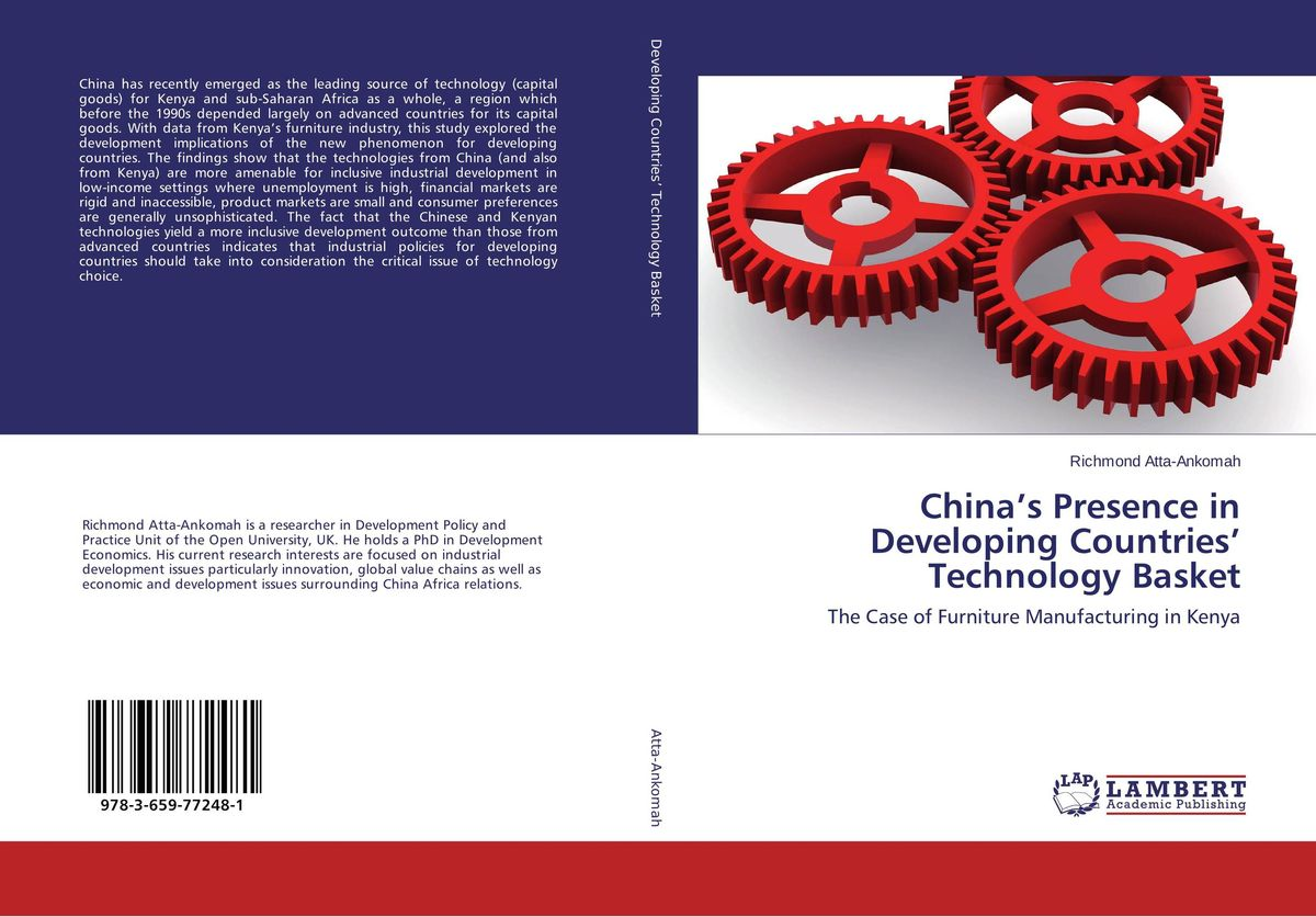 China's Presence in Developing Countries' Technology Basket