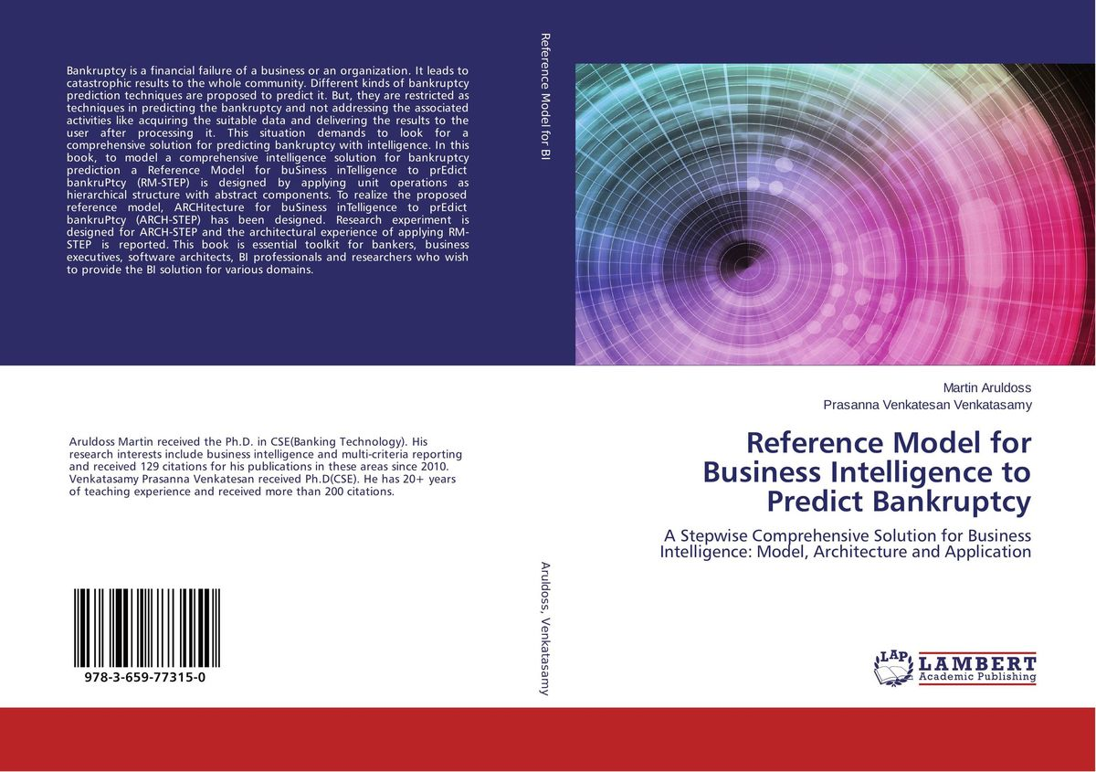 Reference Model for Business Intelligence to Predict Bankruptcy edith hotchkiss corporate financial distress and bankruptcy predict and avoid bankruptcy analyze and invest in distressed debt
